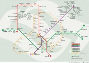 Singapur MRT